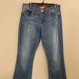 Lucky Brand Blue Sofia Boot Jeans 10/30 Long  NWOT